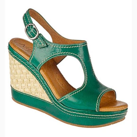 ab7c0acab2e48 Anthropologie Naya Eternal Green Wedge Sandal. M_5c80b6073c9844f415e4a4a9